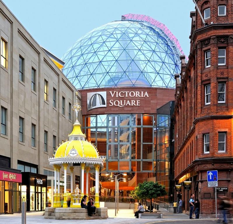 Victoria square shoping centre