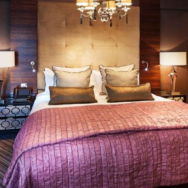 King Bed in Suite Clayton Hotel Birmingham