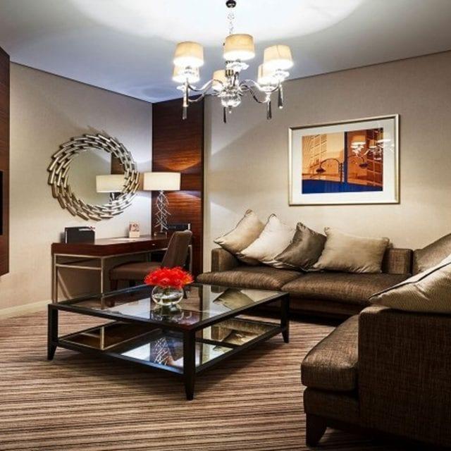 Lounge Area in Suite Clayton Birmingham
