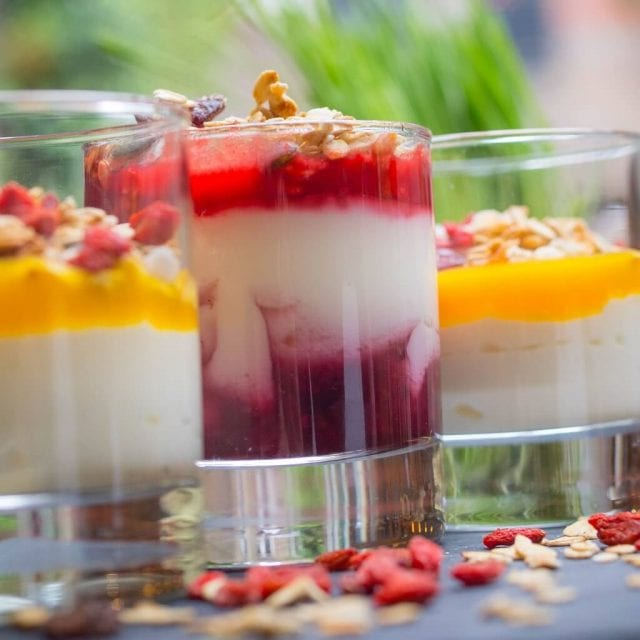 Vitality and healthy breakfast served at Clayton Hotel