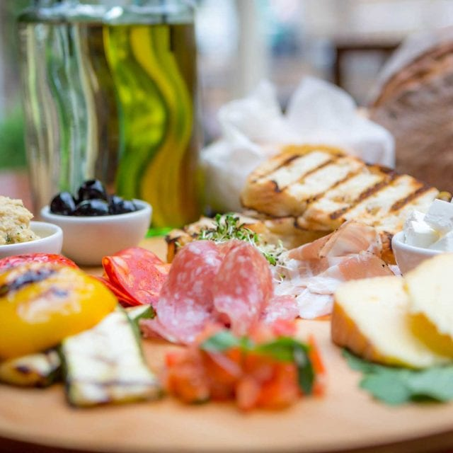 Clayton Hotel Vitality Breakfast mezze of cheese meats and breads