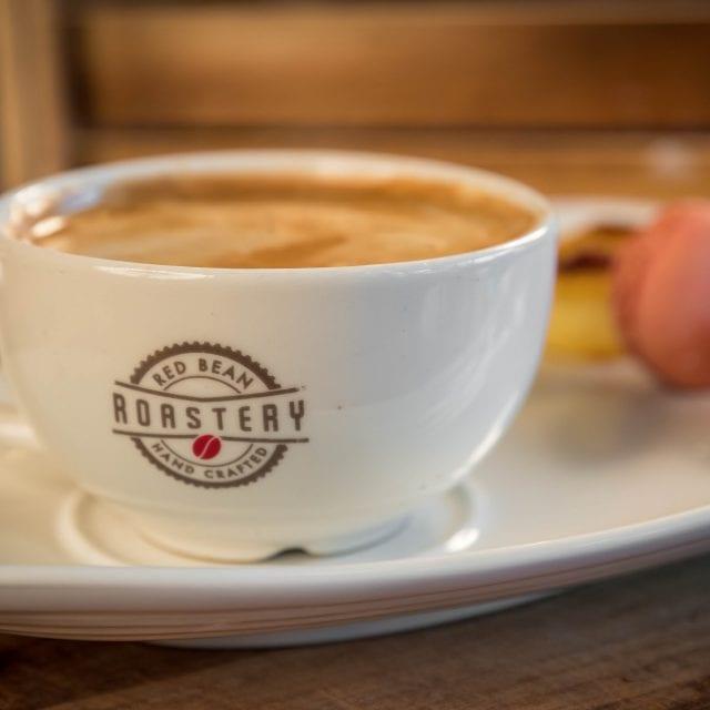 coffee in hotel coffee shop