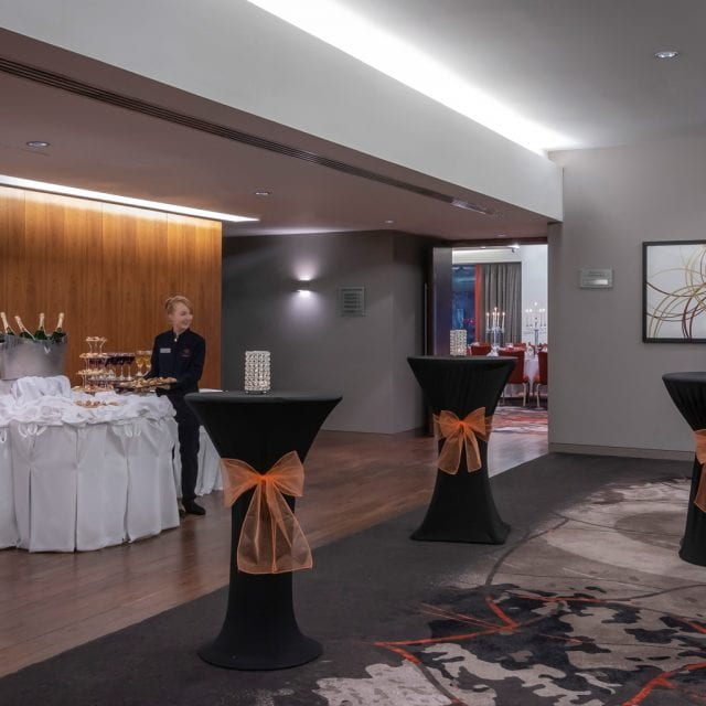 hotel drinks reception