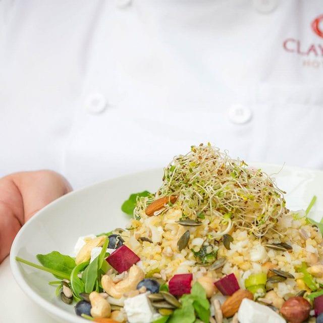superfood salad hotel restaurant