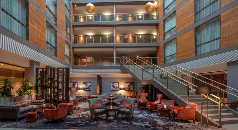 hotel lobby cork