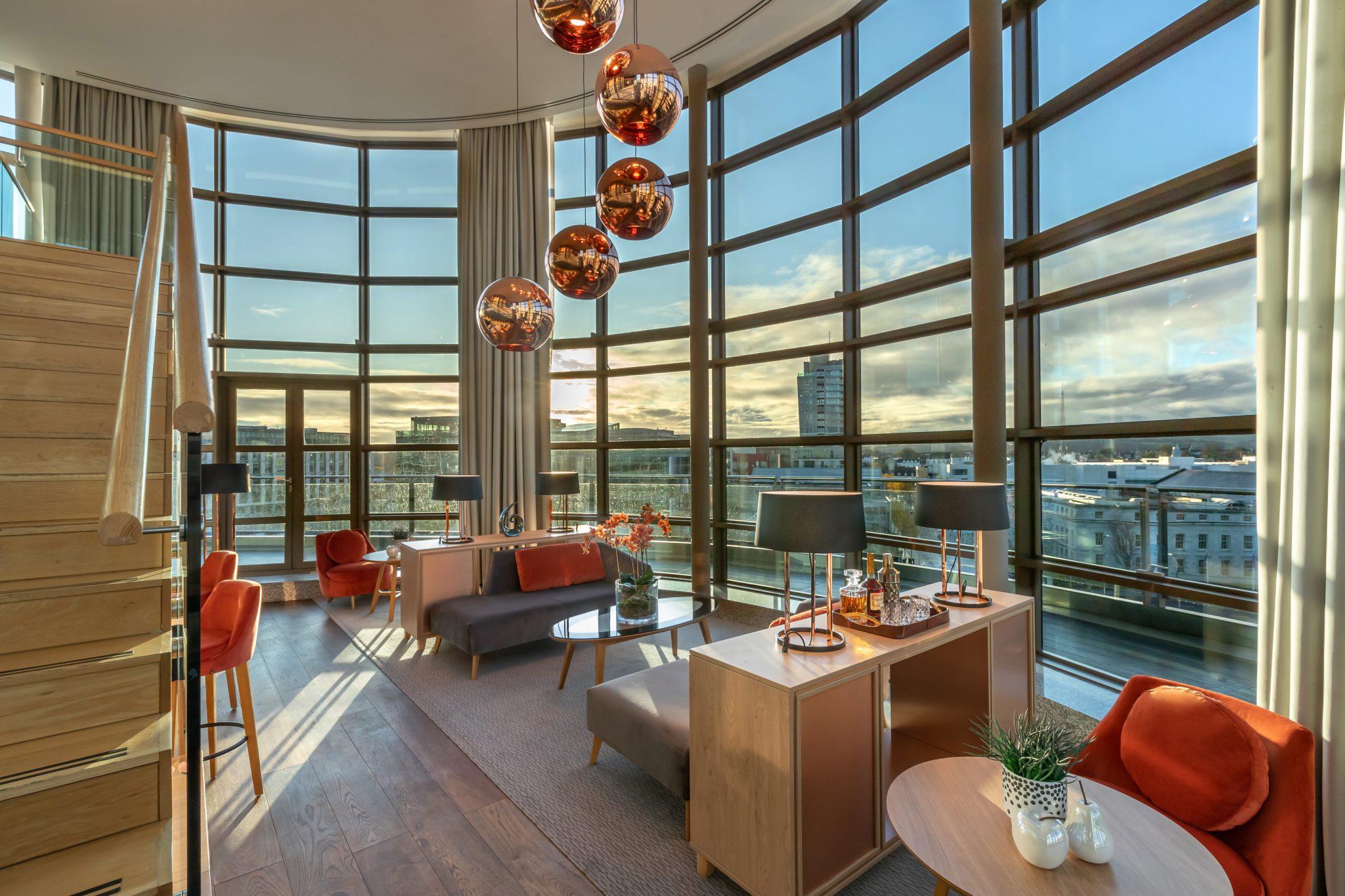 Clayton hotel cork city penthouse