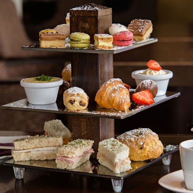 afternoon tea in hotel