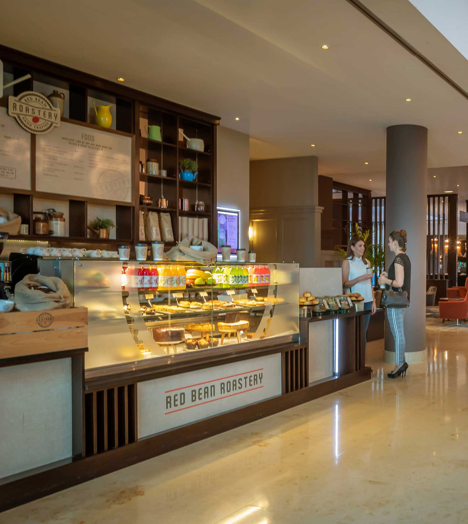 Red-Bean-Roastery-24-hour-coffee-dock-in-Clayton-Hotel-Dublin-Airport-lobby