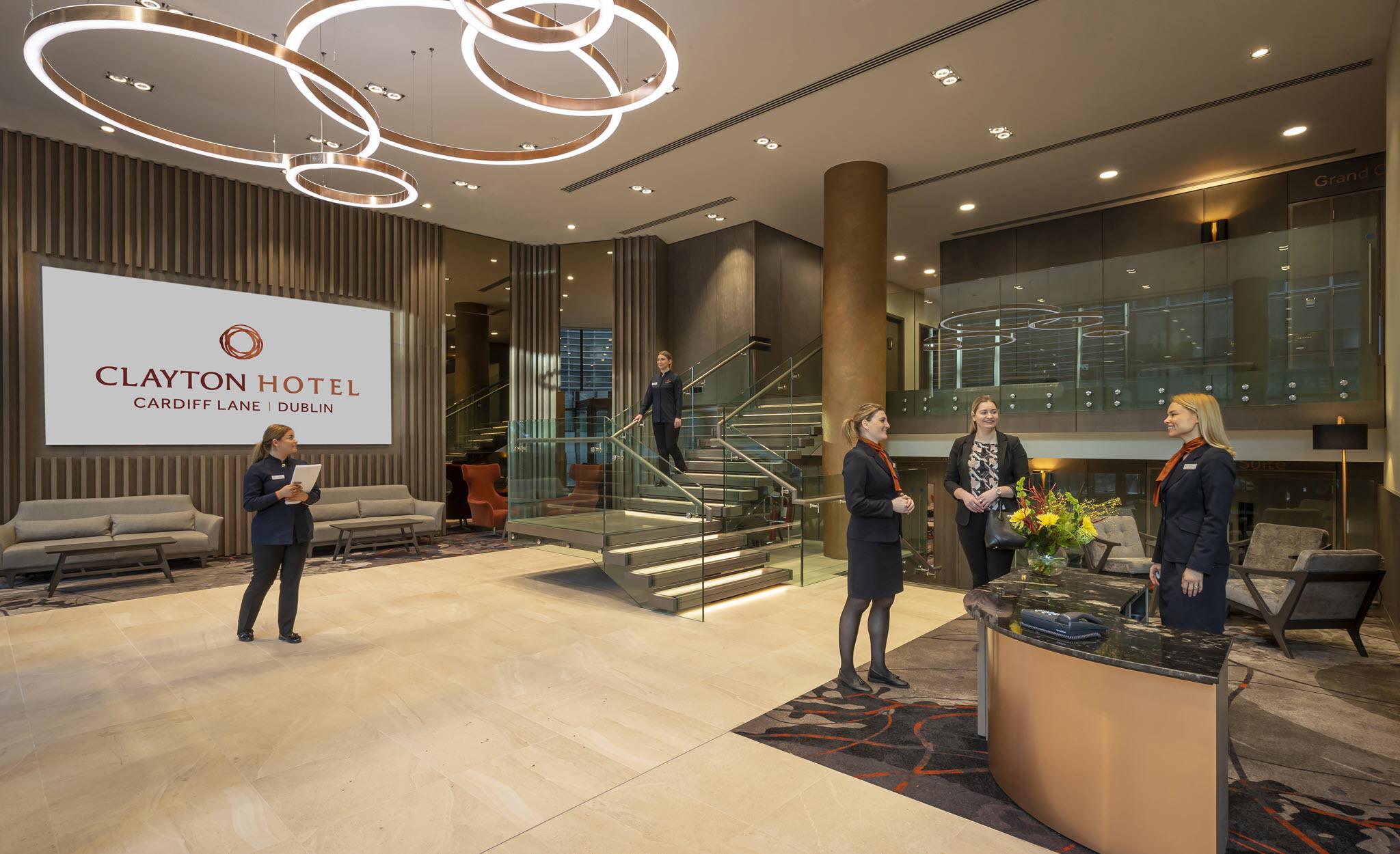Foyer – Clayton Cardiff Lane Conference Dublin