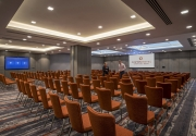 Pearse Suite Theatre Full Set Up – Clayton Cardiff Lane Conference Dublin