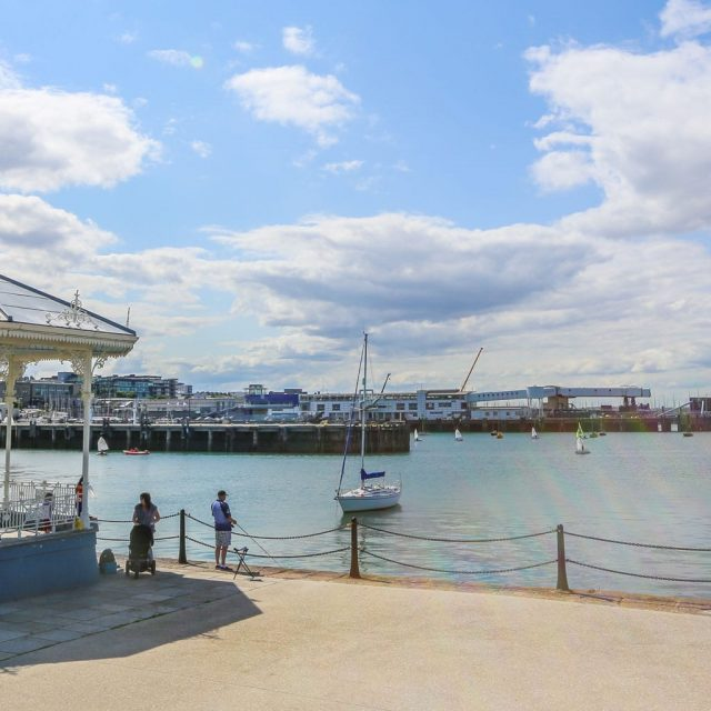 Dun Laoghaire Fishing Stand Harbour