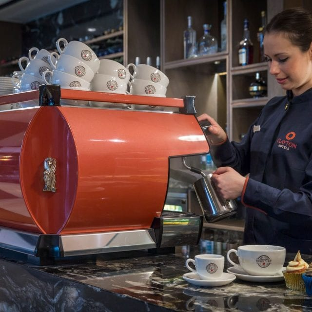 Coffee Barista at Red Bean Roastery