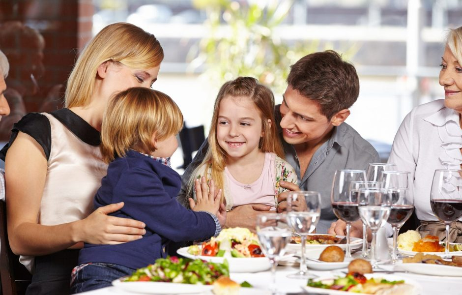 Family dining in Limerick