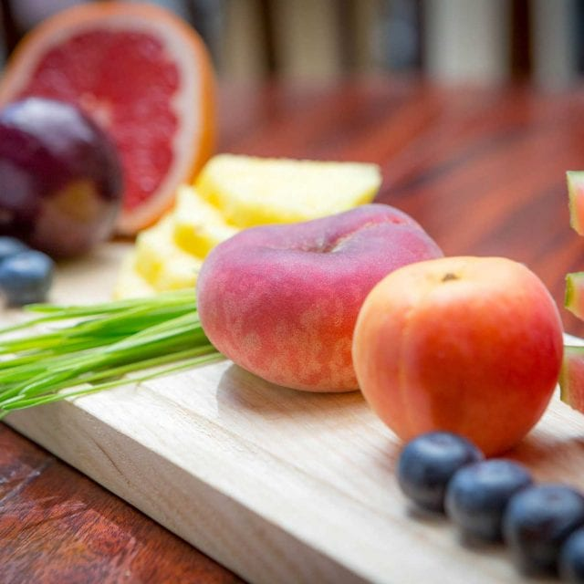 Fresh fruits served at Clayton Hotel