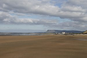 strandhill beach sligo, short drive to clayton hotel