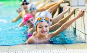 hotel guests at national aquatic centre