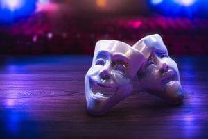 theatre masks clayton hotels london