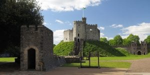 hotels near cardiff castle