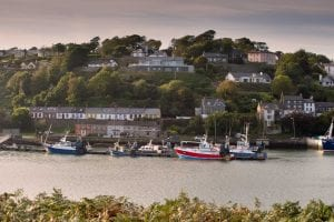 boats in kinsale harbour