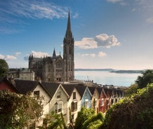 panaromic view of cobh